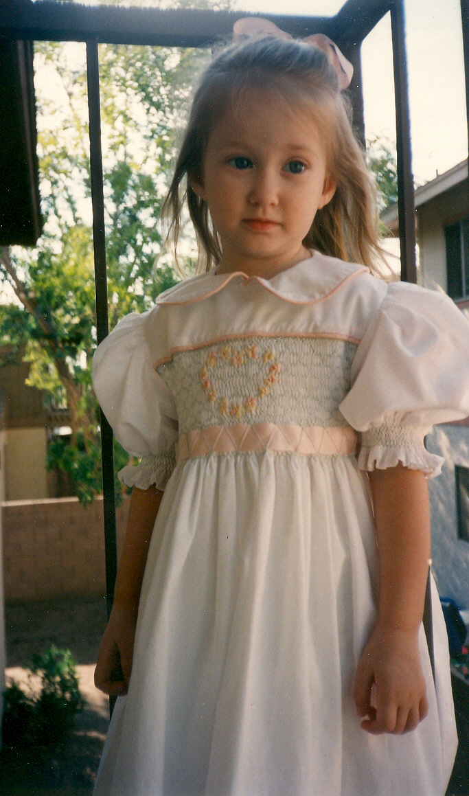 Every little girl needs a pretty white dress | Fairy Child