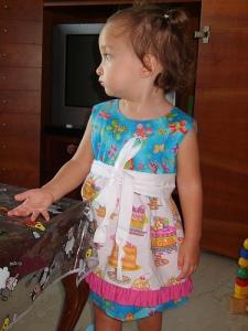 CT cupcake apron