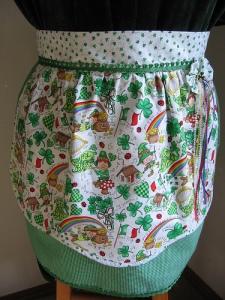 """""""lucky"""" apron"""