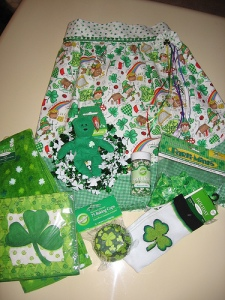 lucky st patty apron swap