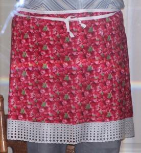 raspberry apron