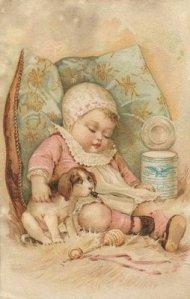 victorian baby sleeping2