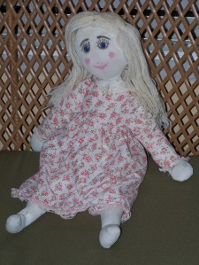rag doll from mom