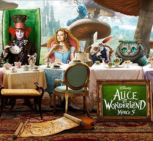 "Alice In Wonderland Movie: Alice In Wonderland ""Sweet 16"" Birthday Party"
